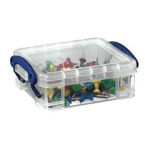 Really Useful Boxes 0.2 Litre Clear : Add-on Item at Amazon for £1.02
