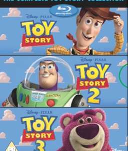 Toy Story 1-3 Blu-ray Boxset (pre-owned) £9.43 at MusicMagpie