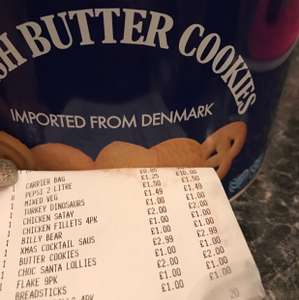 Danish Butter Biscuits £2.99 @ iceland