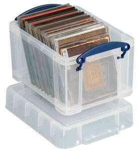 Really Useful 245 x 180 x 160mm 3L Box with Lid - Clear, £3 from amazon (Add on item)
