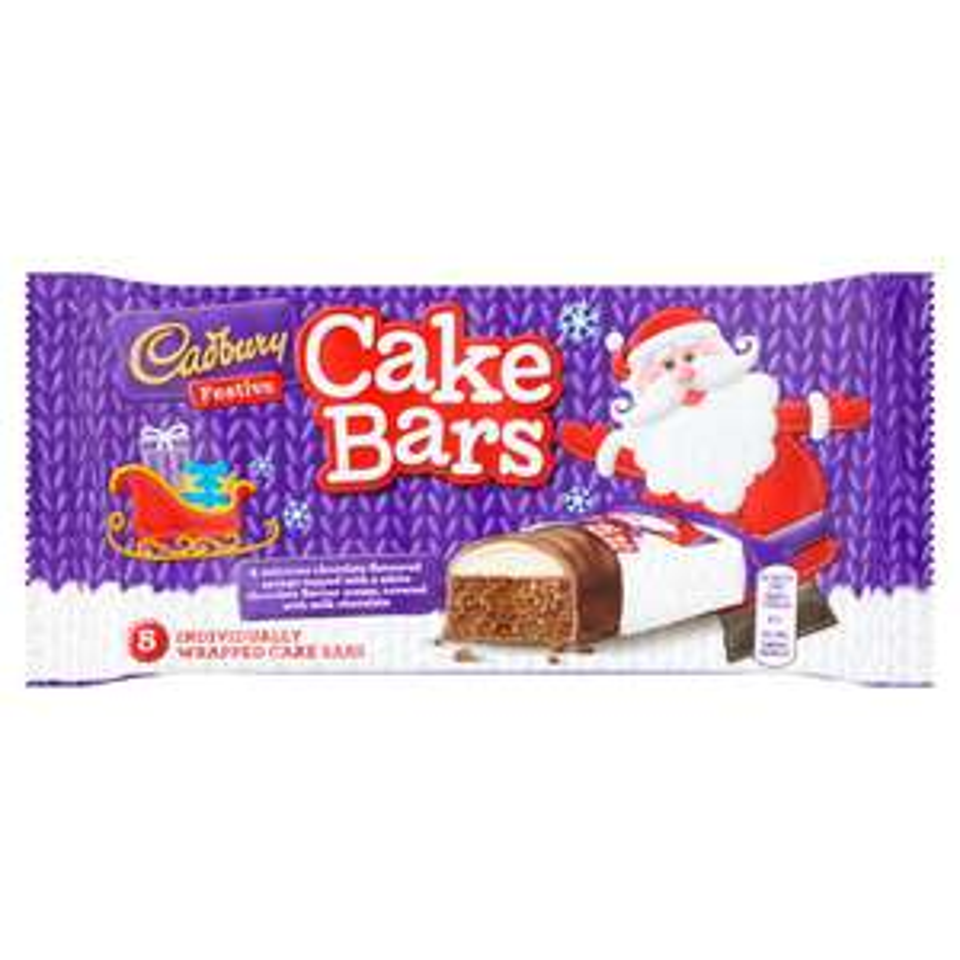 Cadbury 5 Festive Cake Bars ONLY £1.00 @ Iceland