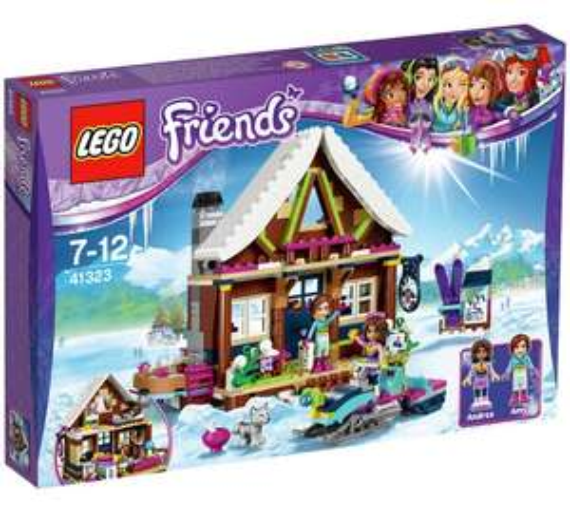 LEGO Friends Snow Resort Chalet - 41323 - £29.99 @ Argos