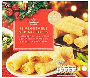 Morrisons Cheese Straws (14 per pack - 204g) Buy one pack for £1.00 or 2 for £1.50 until Tuesday 12th December ONLY £1.00