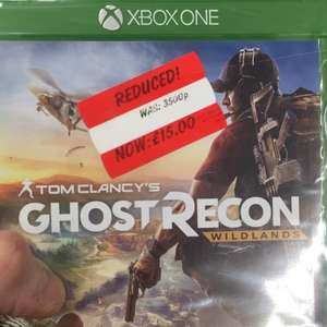 Ghost recon wildlands £15 @ asda instore (Bury)