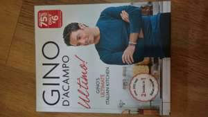 Gino D'Acampo Ultimo Cookbook plus others £6 in store @ WHSmith