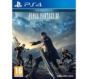 Final Fantasy 15 Day One Edition PS4/XBOX ONE @ Argos
