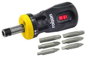 Add on item at Amazon Rolson 28402 12-in-1 Stubby Screwdriver by Rolson reduced to 2.99£ from 7.99£ @ Amazon (Add on item)