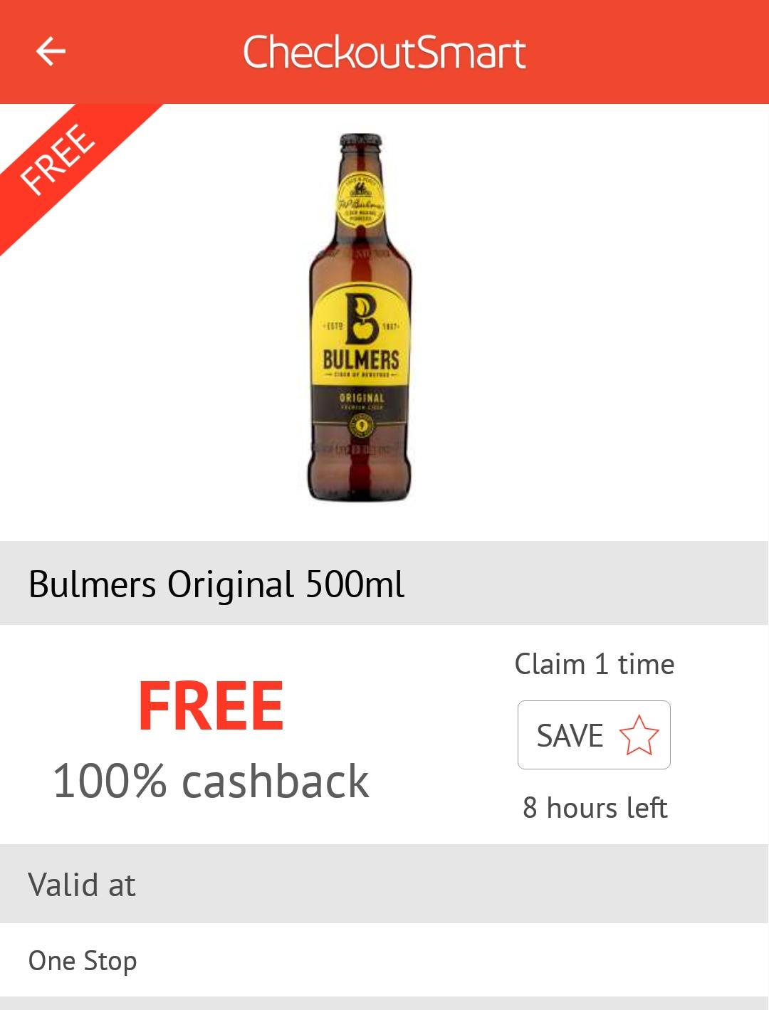 App Bottle discount offer