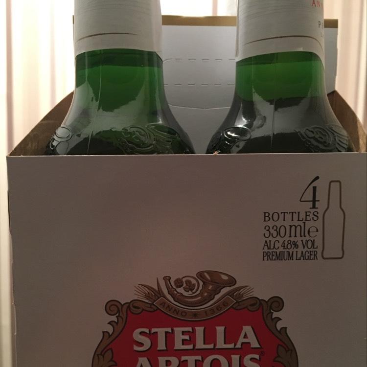 Stella Artois 330ml x 4 - £2.24 @ Lidl (Sevenoaks)