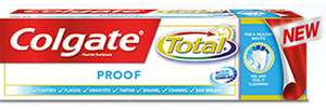 Colgate Total Proof Toothpaste 75ml only £1.20 with PYO @ Waitrose