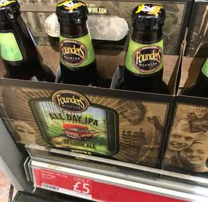 Founders All Day IPA x6 £5 @ Booths