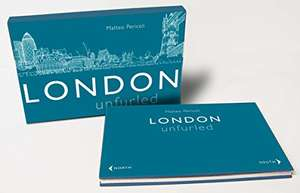 London Unfurled Hardcover by Matteo Pericoli £4 Prime £6.99 delivered @ Amazon