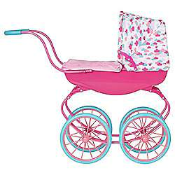 Official Baby Born Vintage Carriage Pram £27.50 Tesco.