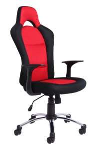 Office Essentials Racing Style Office Chair - Red/Black £29.99 @ Amazon
