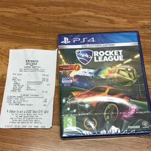 Rocket League Collectors Edition PS4 £20 instore @ Tesco