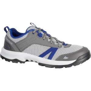 QUECHUA Arpenaz 100 Fresh Men's blue grey hiking boots for £7.99 plus free collect @ Decathlon