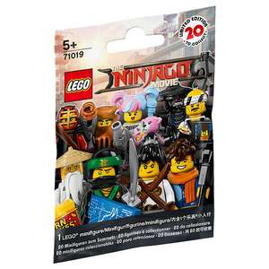 Lego ninjago minifigures Reduced at John Lewis £1.50