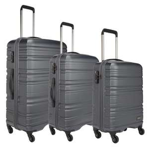 Antler Saturn Hardside 3 Piece Charcoal Suitcase Set £99.99 @ Costco
