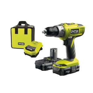 Ryobi ONE+ Cordless Combi Drill with 2 x 1.3A Batteries and 45 Minute Charger, 18V - £84.99 @ Amazon
