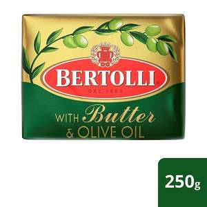 Bertolli Block With Butter & Olive Oil 250g £1.00 at Morrisons