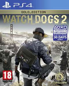 (PS4) Watch Dogs 2 Gold Edition (Nordic) £19.99 delivered @ Coolshop