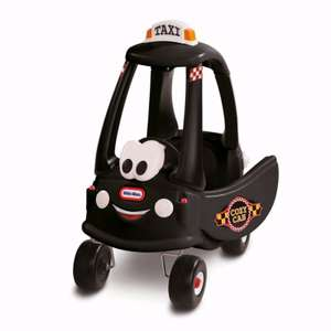 Up to 50% off Toys + Further 20% off with code  (no min spend) e.g. Little Tikes Cosy Coupe Black Cab £34.72 @ Debenhams