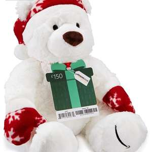 FREE amazon limited edition bear when you buy £150 Amazon gift voucher