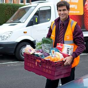 £18 off First Grocery Orders Over £60 w/code at Sainsbury's