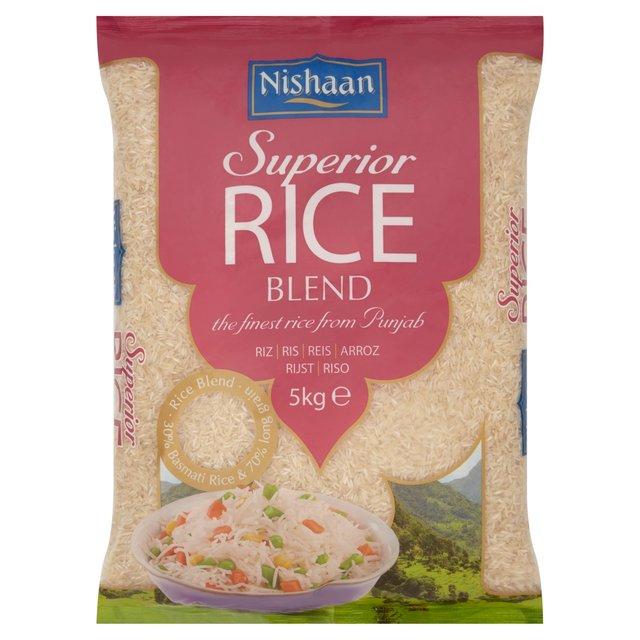 nishaan basmati rice 5kg £4 morrisons instore