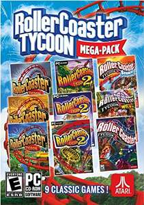 Rollercoaster Tycoon Mega Pack PC - £5.99 (Possibly cheaper with cdkeys FB like code) @ CDKeys