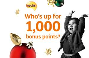 GENUINE email from Sainsburys.  Bonus Nectar Points email from Sainsburys 1,000 bonus points to boost your balance just from opening this email by 17 December.