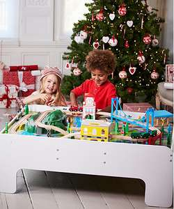 Big City Wooden Rail Train Table was £150.00 - £40 @ Mothercare