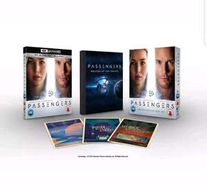 Passengers (4K Ultra HD + Blu-ray + Digital HD (Limited Edition)) [Blu-ray] £19.49 @ Zoom