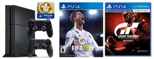 PS4 with FIFA 18 and GT Sport £229.98 @ Ebuyer