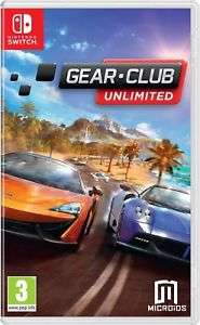 Gear Club Unlimited (Nintendo Switch) £29.99 @ebay via funboxmedialtd