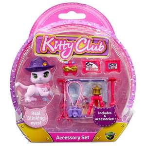 Kitty Club Cat and accessory pack £1.96 Toys R Us