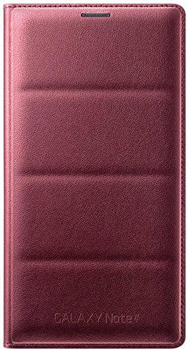 Genuine Ruby Red Samsung Note 4 Flip Case £6.99 Prime / £10.98 Non Prime @ Amazon