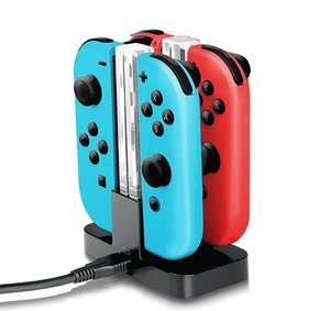 IVSO Nintendo Switch Joy-Con Charging Dock Compact Joy-Con Charge Stand with TYPE-C Charging Port + Electric Light for Nintendo Switch by IVSO £14.95 Prime / £18.94 Non Prime @ Amazon