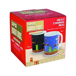 Super Mario Bros heat changing mug £3.99 @ B&M