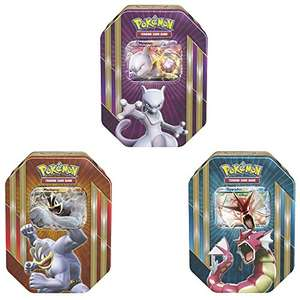 Set of 3 Pokemon TCG Spring Tins (Mewtwo, Gyarados, Machamp) £29.99 @ Amazon - Dispatched from and sold by Fun Collectables