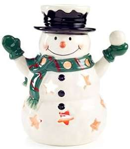Yankee Candle Home Inspiration Snowman Luminary Tea Light Holder £6.99 Prime / £10.98 Non Prime @ Amazon