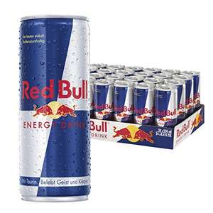 Red Bull, 24-pack, £15.00 Prime / £18.99 Non-prime