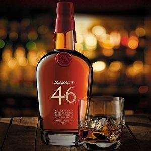 Maker's Mark 46 Kentucky Bourbon Whisky, 700ml - Amazon Lightning Deal - £30