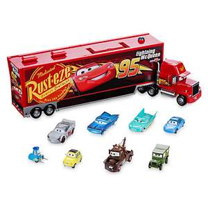 Mack carry case and 8 die cast cars £29.99 @ Disney Store
