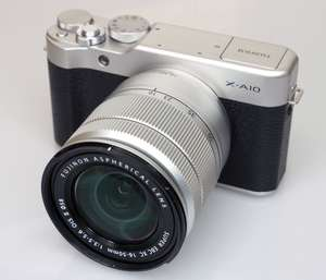 Refurbished FUJIFILM X-A10 Compact System Camera + XC16-50mm mkII Lens - £259 @ Fuji