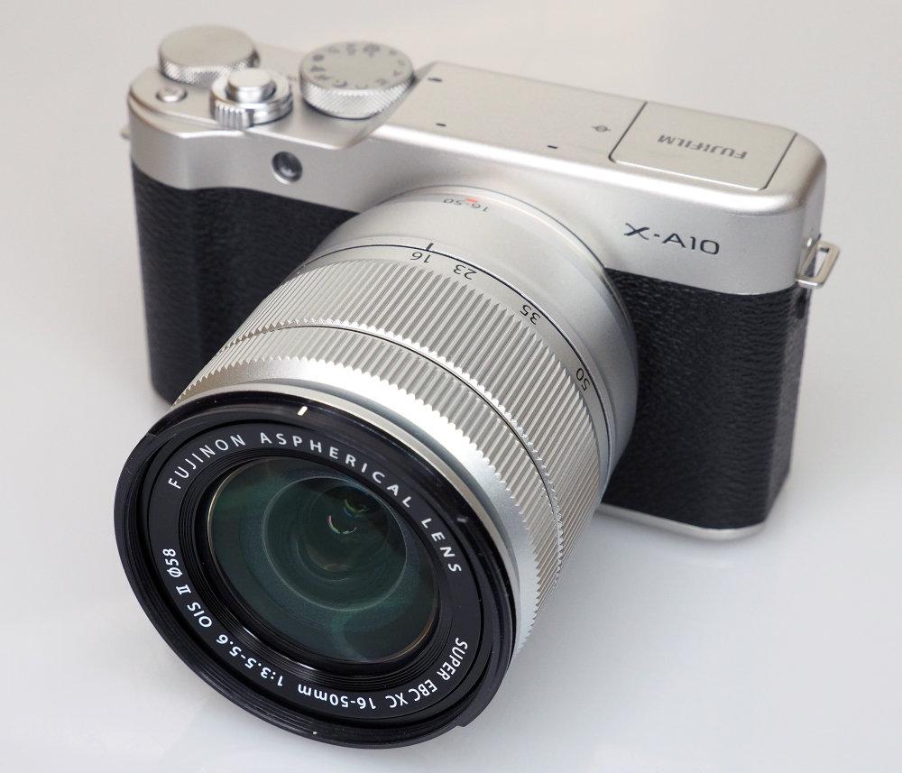 Refurbished FUJIFILM X-A10 Compact System Camera + XC16-50mm mkII Lens - £259 @ Fuji