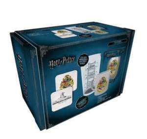 Harry Potter Official product From the popular movie/book Box contains: 1 x ceramic mug 1 x large glass and 2 x coasters Hand wash only £19.99 @ Internet Gift Store