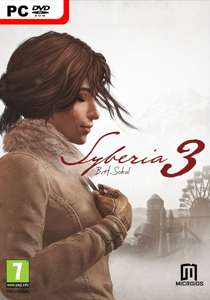 Syberia 3 [Steam] £6.99 @cdkeys.com with possible 1% quidco cashback