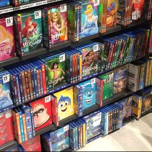 Various Disney O-Ring Blu-Rays £6.99 each instore at HMV
