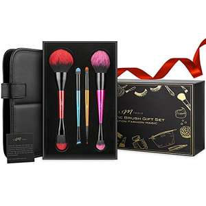 Professional Makeup Brushes 8 Piece Double Ended Gift Set, IFM TOOLS (Fulfilled by Amazon) was £39.99, now £15.99 Prime / £19.98 non-Prime